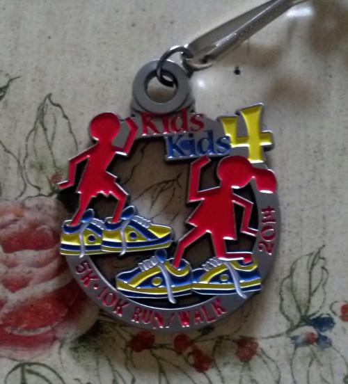 My inaugural medal