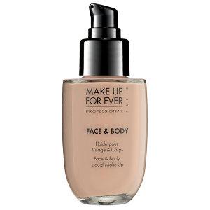 makeup face and body