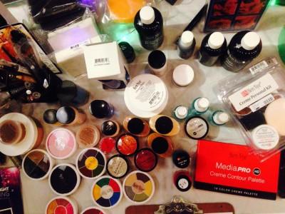 halloween makeup tools