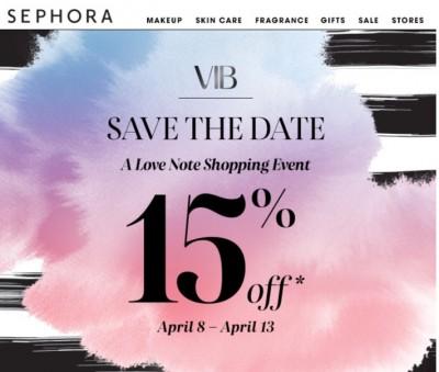 Sephora VIB